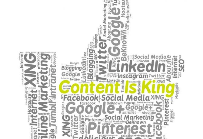 content is king when it comes to marketing