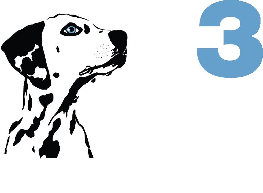 M3 Media Publishing logo on dark